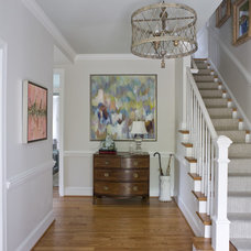 Traditional Staircase by 2 Ivy Lane