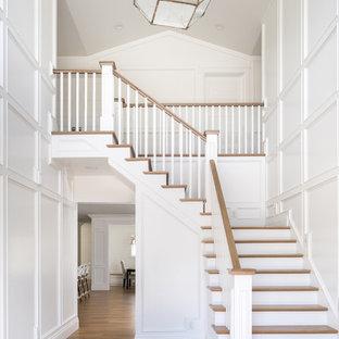 Idéer för en lantlig trappa