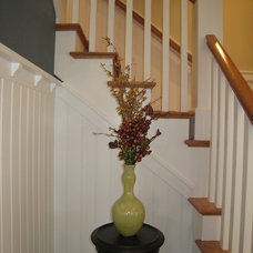Farmhouse Staircase by New Urban Home Builders