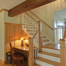 Craftsman Staircase by Ruhmel Contracting Inc