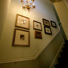 Eclectic Staircase by Plural Design Inc.