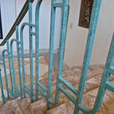 Beach Style Staircase by Faux By Christine, Inc