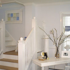 Traditional Staircase by backporchco