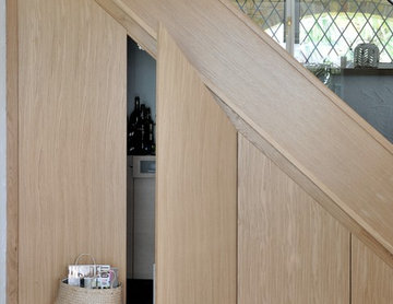 Feature Steps and Under Stair Storage