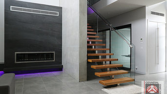 Featured Project | Contemporary Stair - Bella Vista Residence