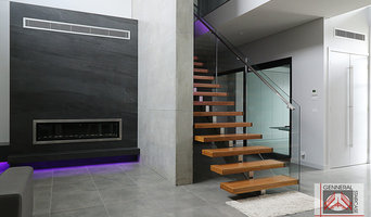 Featured Project   Contemporary Stair - Bella Vista Residence