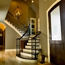 Traditional Staircase by LKH Design, Inc.