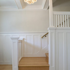 Traditional Staircase by Feldman Architecture, Inc.