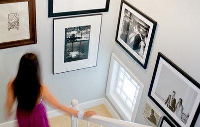 Les photos envahissent les murs pour le bien de notre déco