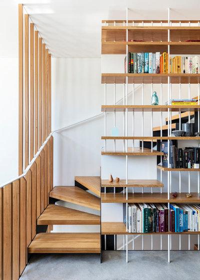 コンテンポラリー 階段 by anderson architecture