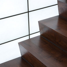 Asian Staircase by Gardner Mohr Architects LLC