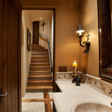 Southwestern Staircase by Sonoran Classic Builders