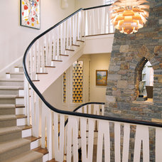 Traditional Staircase by Polhemus Savery DaSilva