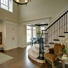 Traditional Staircase by Woodstone Renovation LLC