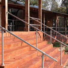 Industrial Staircase by Ignacio Salas-Humara Architect LLC