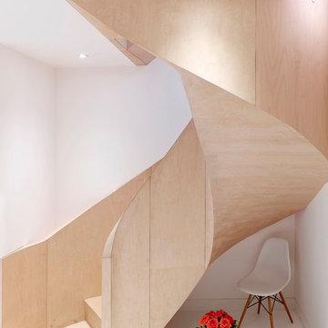 Fitzrovia Mews - Spiral Stairs