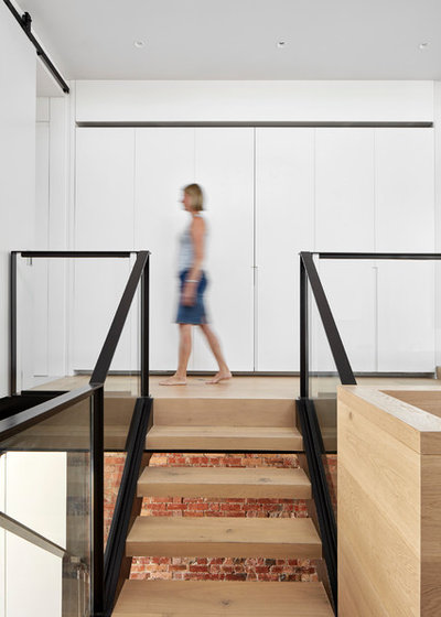 Contemporain Escalier by MMAD Architecture