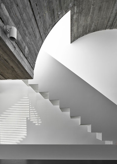 Contemporary Staircase by Taylor Knights