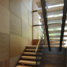 Modern Staircase by Carol Kurth Architecture + Interiors