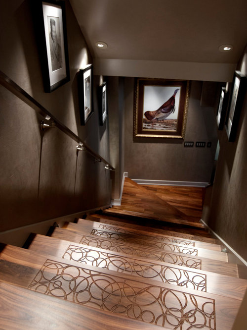 Stairwell Decor Ideas, Pictures, Remodel and Decor