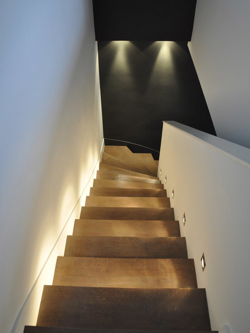 basement stair lighting houzz