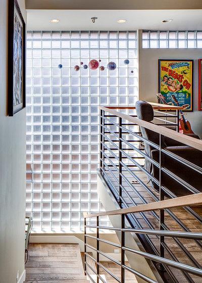 Pav s ladrillos de vidrio en paredes exteriores para tu casa - Como colocar ladrillos de vidrio ...