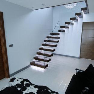 Bild på en funkis trappa