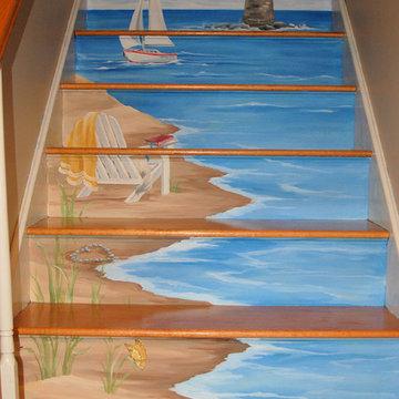 Floor & Stairs Murals