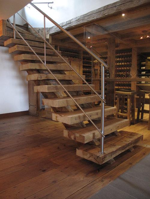 Fotos de escaleras dise os de escaleras r sticas en montreal - Fotos de escaleras rusticas ...