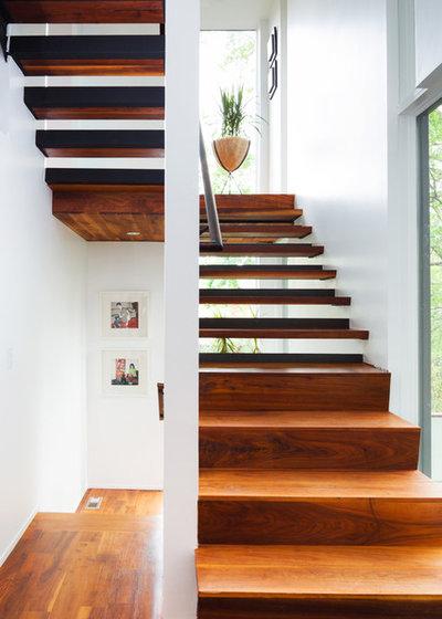 Contemporain Escalier Florian Hart Residence