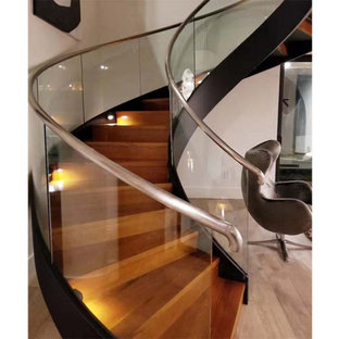 Florida curved staircase project