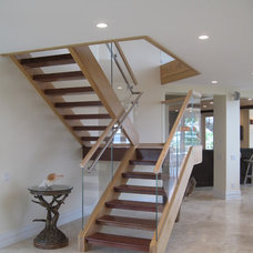 Tropical Staircase by Progressive Construction, Inc.