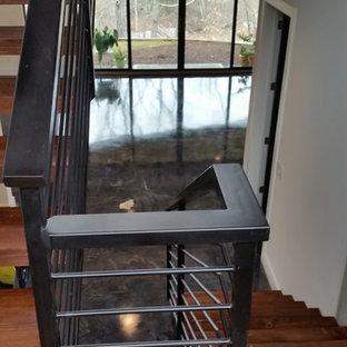 Staircase - modern staircase idea in Atlanta
