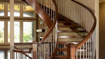 Fluent Maple Open Rise Stair