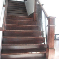 Contemporary Staircase by Scotia Stairs