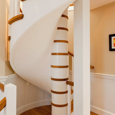 Contemporary Staircase by Polhemus Savery DaSilva
