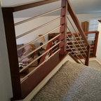 Pebble Beach Residence Contemporary Staircase San