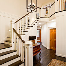 Traditional Staircase by Maven Interiors