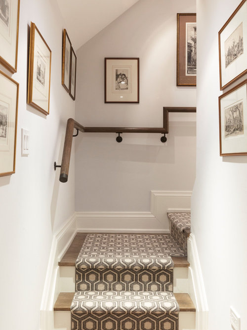 Traditional Wooden Staircase Idea In Toronto