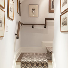Traditional Staircase by Barbara Purdy Design Inc.
