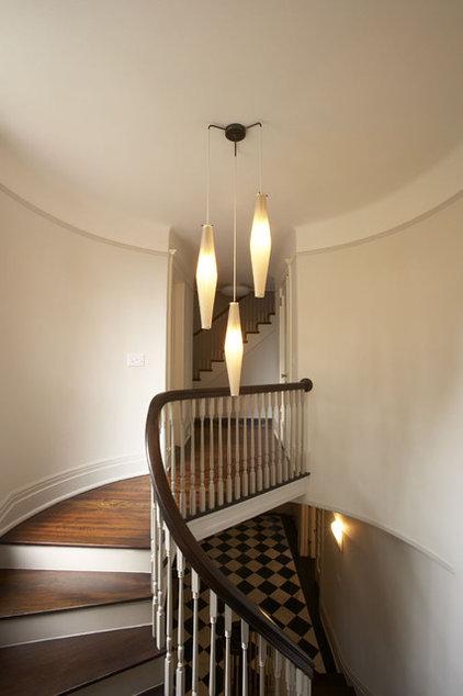 Contemporary Staircase by Robert Kaner Interior Design