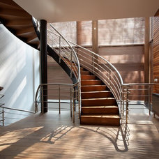 Eclectic Staircase by Roman Leonidov