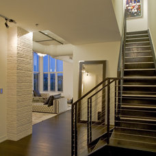 Contemporary Staircase by FORMA Design