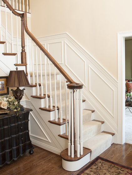 Traditional Staircase by Transformed Interiors