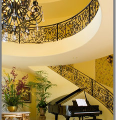 traditional staircase by Tracy Murdock Allied ASID