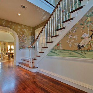 Fort Worth Dream Home Staircase