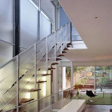 Modern Staircase by Fougeron Architecture FAIA