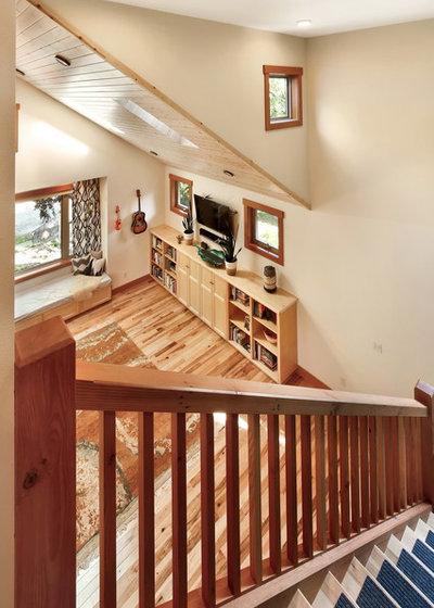 Craftsman Staircase by Bellingham Bay Builders