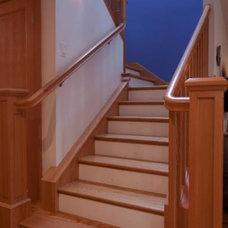 Contemporary Staircase by Tali Hardonag Architect