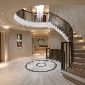 Foyer, 10,000sqft Private Residence, Radlett